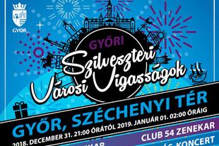 ÍGY BÚCSÚZTATJUK AZ ÉVET: Győri szilveszteri városi vigasságok 2018