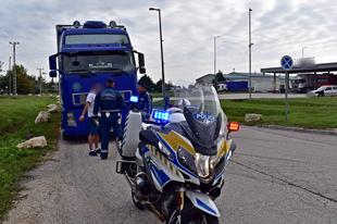TEGNAPI NAP EREDMÉNYE: 14 teherautó sofőr akadt fenn a rostán