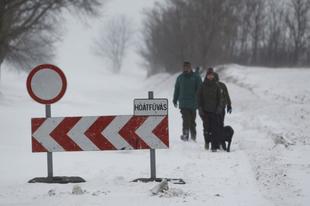 Jelenleg 2 útszakasz járhatatlan Győr-Moson-Sopron megyében
