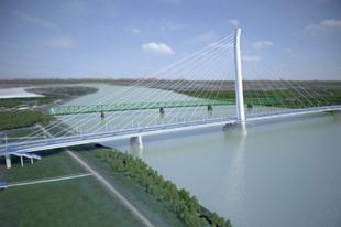 Új híd épülhet a Dunán Győr közelében