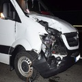 ELHAGYTA A KEREKÉT AZ M1-N! Nekirepült egy másik teherautónak