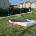Nem mindennapi műalkotással gazdagodott Tatabánya: hulladékból emeltek emlékművet a Bárdos Lakóparknál