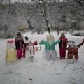 TATABÁNYA A HÓEMBEREK VÁROSA: Különleges hófazonok Sárberekben is!