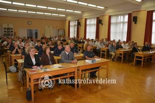 Érettségi a  katasztrófavédelemnél- 17 tatabányai munkatárs is vállalta a megmérettetést