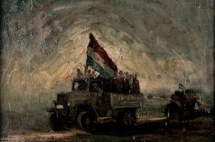 A tatabányai Görgényi István 1956-os, titokban készített festményeiből nyílik kiállítás Budapesten