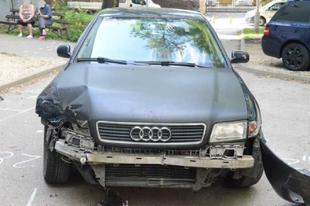 LENYÚLTA APUCI AUDIJÁT A TATABÁNYAI 17 ÉVES SUHANC! Három autót sikerült összetörnie