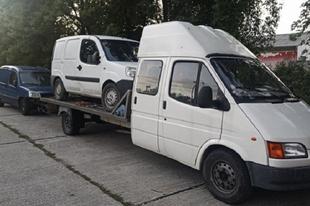 TATABÁNYÁNÁL KAPCSOLTÁK LE A SZELLEM VONTATMÁNYT! Az autópályán kapták el a litván járművet