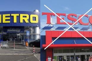RADIKÁLIS VÁLTOZÁS A TESCO UTÁN A METRO-BAN! Tatabányáról is bárki vásárolhat most már