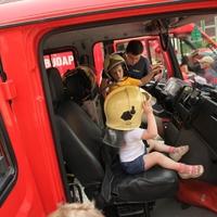 Gyermeknapon irány a tűzoltóság