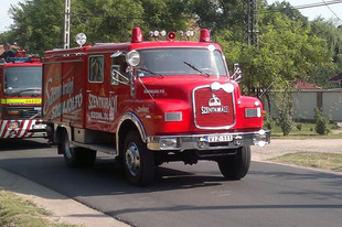 Pénzt kapnak az önkéntes tűzoltók