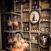 Halloween dekor a múlt századból