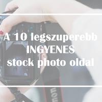 A 10 legszuperebb ingyenes 'stock photo' oldal