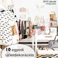 E-magazin: 10 egyedi üzletdekorációs megoldás