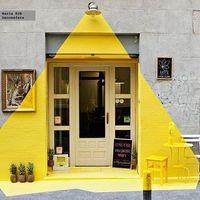 Egy szín, ami öltözteti a boltot: sárga