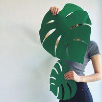 Trópusi levelek - ötletek nyári dekorációhoz