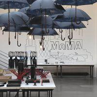 Esernyő, mint üzletdekor eszköz