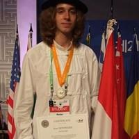 IBO - Novinszky Péter ezüstérmes