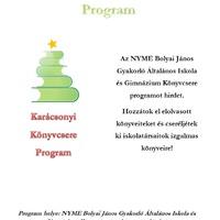 Karácsonyi Könyvcsere Program