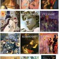 Új művészeti albumok a könyvtárban