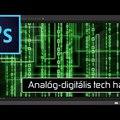 Photoshop – Analóg-digitális tech háttér készítése
