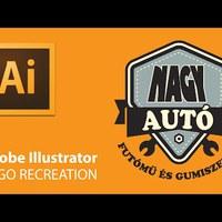Illustrator – NAGY logó-újratervezés