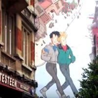Képregénytúra Brüsszelben