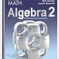 FB2 BIG IDEAS MATH Algebra 2: Common Core Student Edition 2015. report special regional upper right prueba Division myself