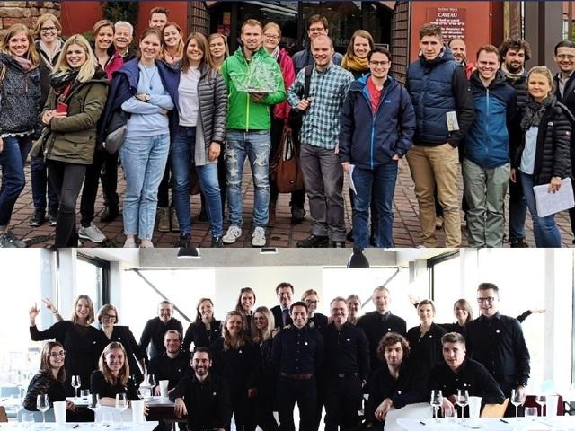 Az osztrák bormarketinges hallgatók jelest kaptak