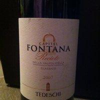 A minőségi édes vörösbor - Tedeschi Recioto 2007