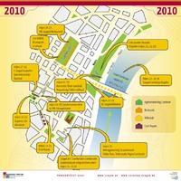 Szeged Napja fesztivál térkép