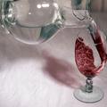 A víz borrá változik