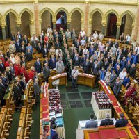 A 2016. évi Pálinka Országkóstoló eredményhirdető gálája a Parlamentben