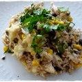 Mexikói (ihletésű) csirkés-babos rizs