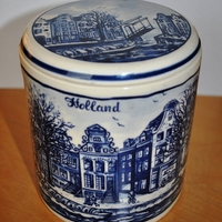 Kedvenc tárgyam és ami róla eszembe jut - Delfti kék tárolóedény