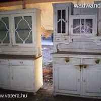 Régiből újat - konyhai tálalószekrényből boltberendezés