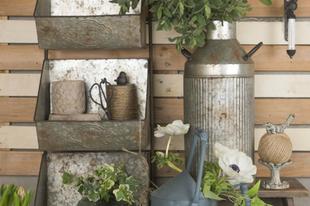Az Öntöttvas és fém dekoráció szerepe lakásban és kertben