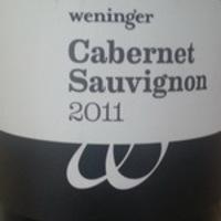 Weninger: Cabernet Sauvignon 2011