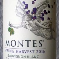 Tegnap ittam - Montes Spring Harvest Sauvignon Blanc 2016