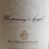 Ch.d'Esclans: Whispering Angel Cotes de Provence Rosé 2011