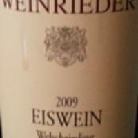 Weinrieder: Welschriesling Eiswein Hölzler 2009