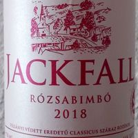 Tegnap ittuk - Jackfall Rózsabimbó 2018