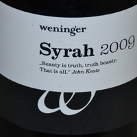 Weninger Syrah 2009