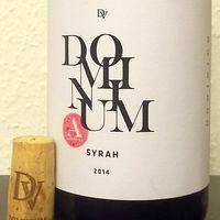 Tegnap ittam - Dominium Pincészet Authentica Syrah 2014