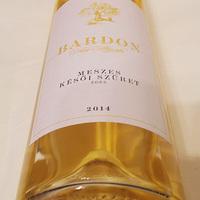 Tegnap ittam - Bardon Meszes Késői Szüret 2014