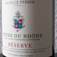 Tegnap ittam - Famille Perrin Cotes du Rhone Réserve 2016