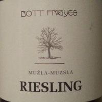 Bott Frigyes: Muzslai Riesling 2011