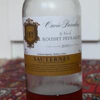 Tokaj Reloaded: Le vin de Rousset-Peyraguey, Cuvée Paradosis, 2003
