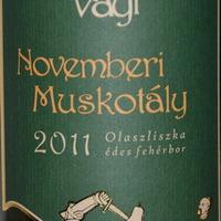 Ungváry Krisztián: Vayi Novemberi Muskotály 2011