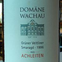 A zöldveltelini mennybemenetele - Domäne Wachau Achleiten Grüner Veltliner Smaragd 1996