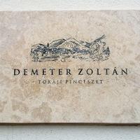 Hegyaljai Hétvégék - Demeter Zoltán Pincészet